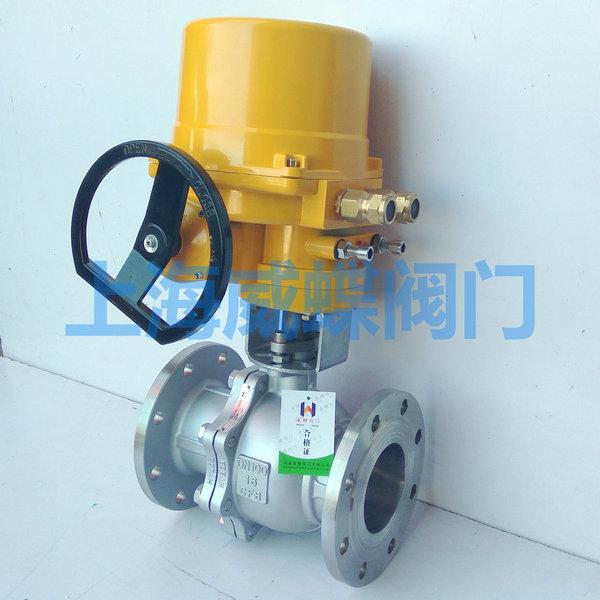 天然气电动球阀用途,天然气电动球阀原理结构
